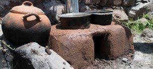 Community stove in cusco