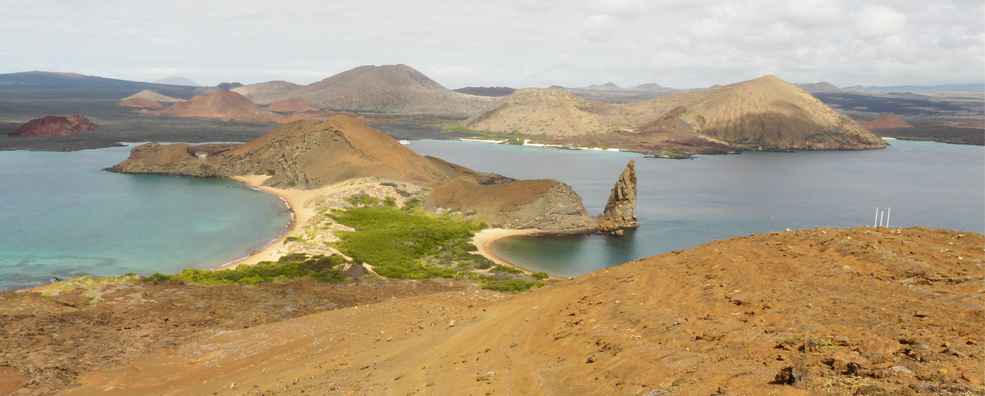 Bartolome Island view point