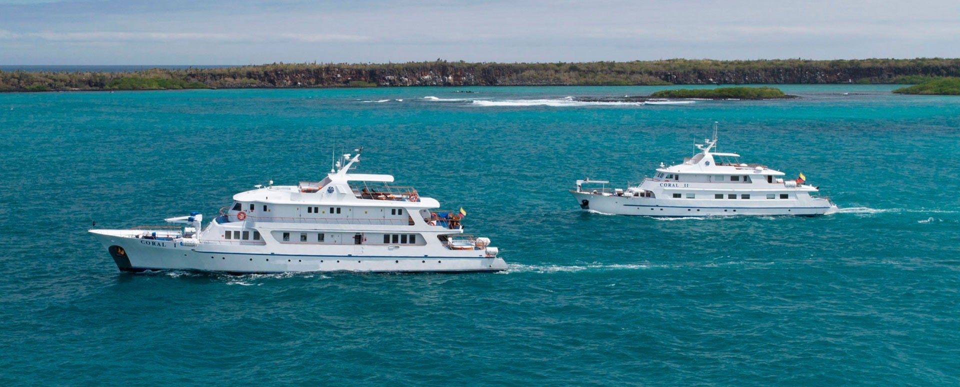 Galapagos Coral I & II Yachts