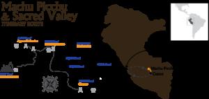 7D Classic Peru Machu Picchu & Sacred Valley Itinerary Route